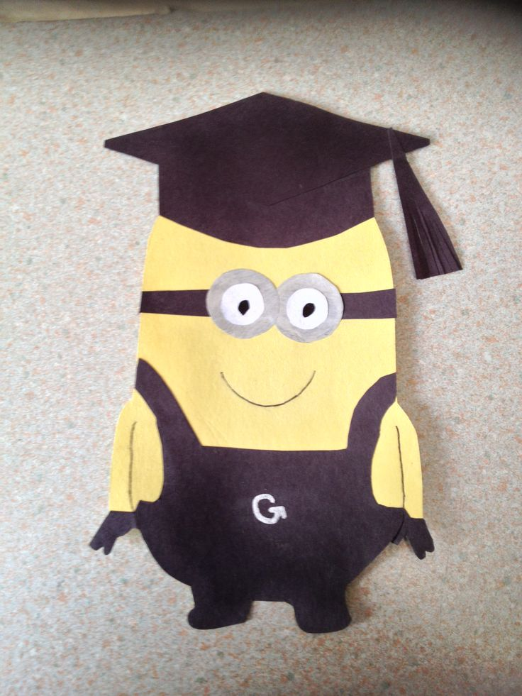 This Is So Going To Be JDs Graduation Card Minions