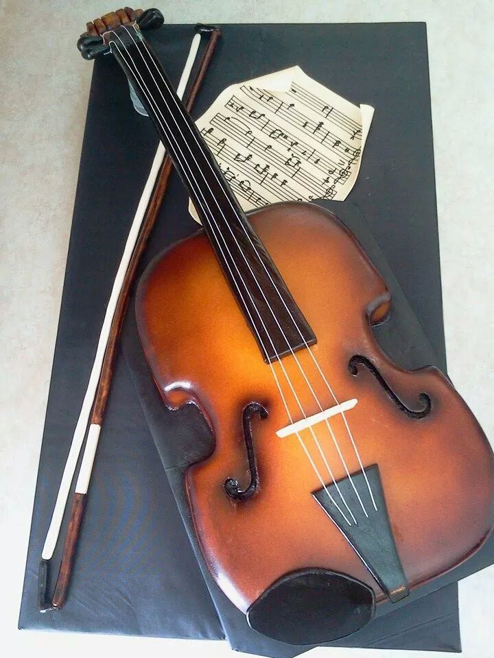 17 Best images about Violin cake on Pinterest  Bandung