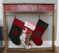 25+ best Stocking Stand ideas on Pinterest   Stocking ...