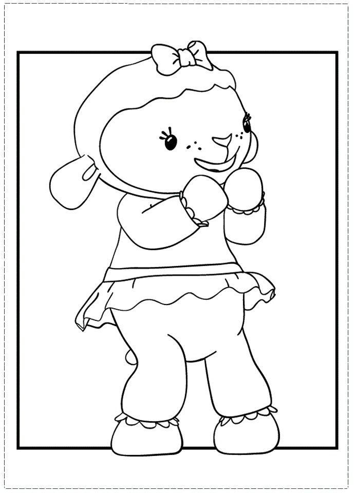 Guarda tutti i disegni da colorare della Dottoressa