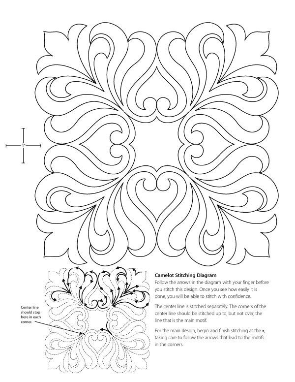 17 Best images about Hand Quilting Patterns on Pinterest
