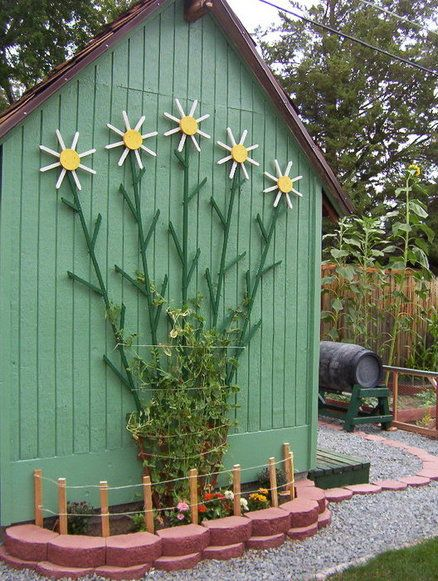 157 Best Images About ✿ Climbing Frames & Plant Trellis ✿ On