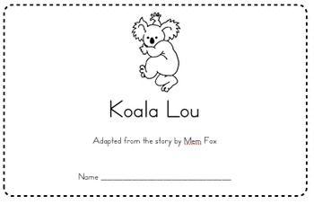 34 best images about Book: Koala Lou by Mem Fox on Pinterest