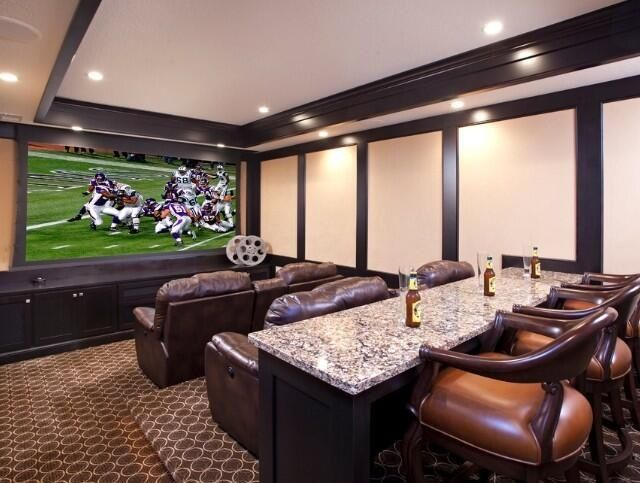 Perfect Man Cave For MarchMadness The Man Cave