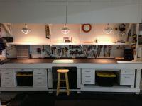 workbench lighting | Workbench & Shop Storage | Pinterest ...
