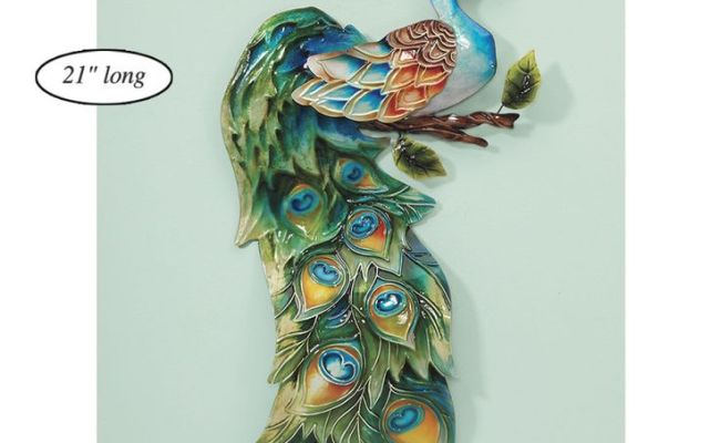 1000 Images About Peacock Metal Art On Pinterest