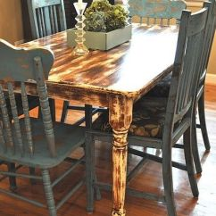 Repainting Kitchen Cabinets Small Lamps For Counters 1000+ Images About Distressed Table On Pinterest ...