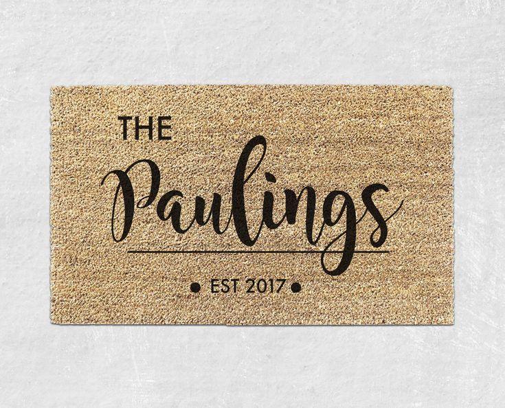Best 20+ Personalized door mats ideas on Pinterest