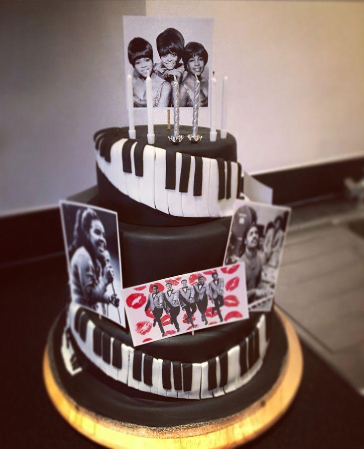 Motown Themed Birthday Cake Baby Pinterest Motown