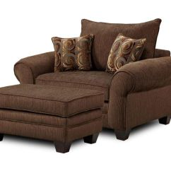 Oversized Chair Cushions Wheelchair Uk Mh910 And Ottoman Combination By Townhouse - Bigfurniturewebsite ...