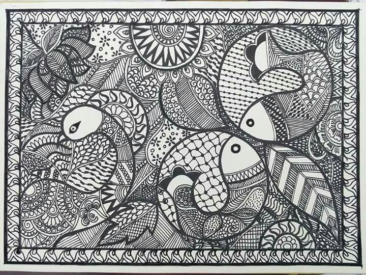 327 Best Images About Zentangle On Pinterest