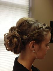 ideas curly bridesmaid