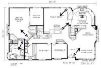 Triple Wide Mobile Home Floor Plans | ... triple wide ...