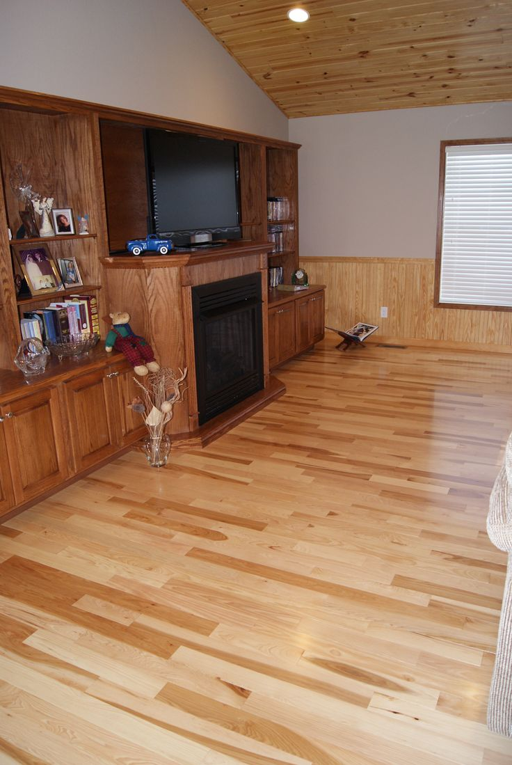 Hickory Common  Better Hardwood Flooring with Natural
