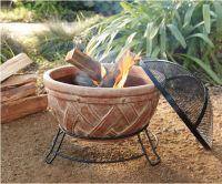 Terra Cotta Fire Pit | Outdoors | Pinterest | Fire pits ...