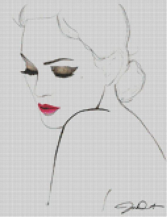 81 best images about cross stitch people on Pinterest