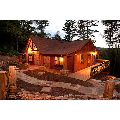 Rock N River Escape to Blue Ridge Cabin  Things We