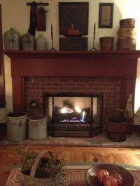 Best 25+ Primitive fireplace ideas on Pinterest