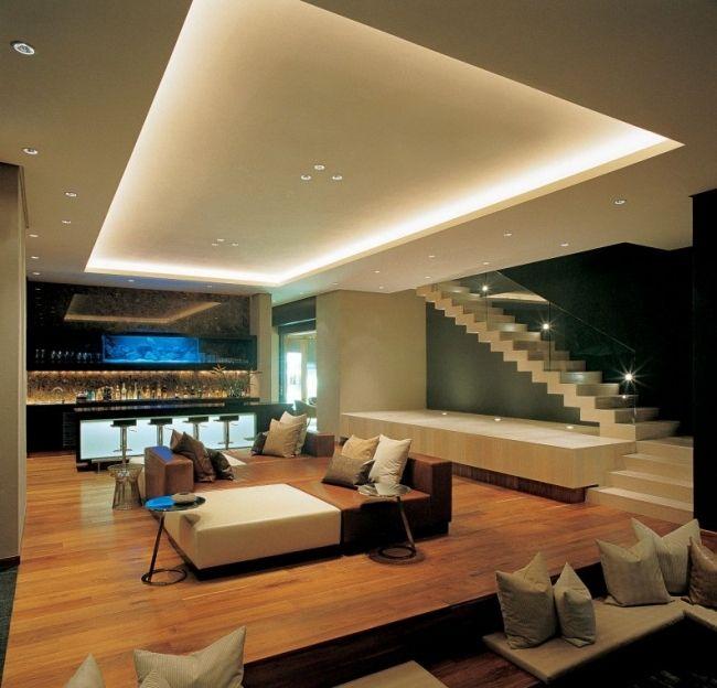 deckenlampe wohnzimmer haus wohnzimmer haus deko esszimmer ... - Led Deko Wohnzimmer