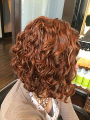 curly inverted bob ideas