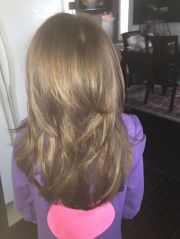 cool little girls layered haircut