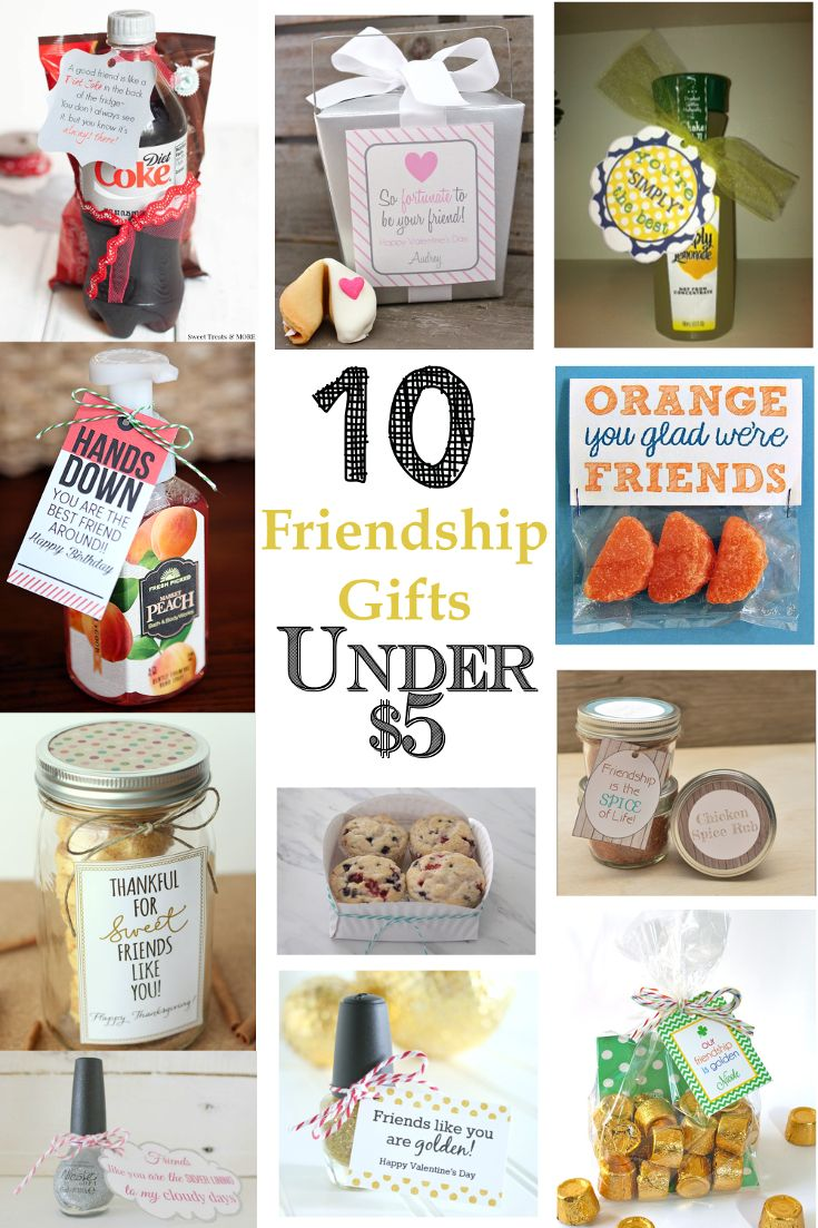10 diy gift ideas under 5 friendship count and birthdays