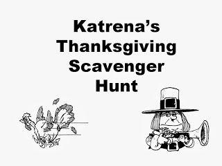 Scavenger hunts, Hunt's and Thanksgiving on Pinterest