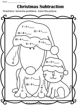 59 best images about Christmas Worksheets on Pinterest