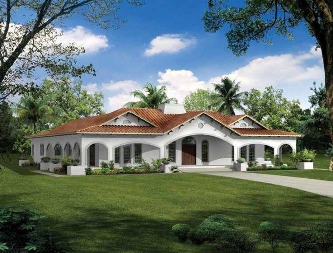 Eplans Spanish Revival House Plan Elegant Awakening