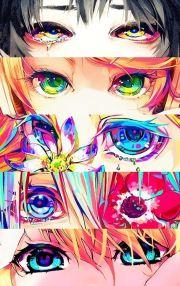 ideas anime eyes