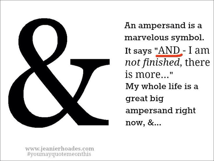 25+ Best Ideas about Ampersand Tattoo on Pinterest