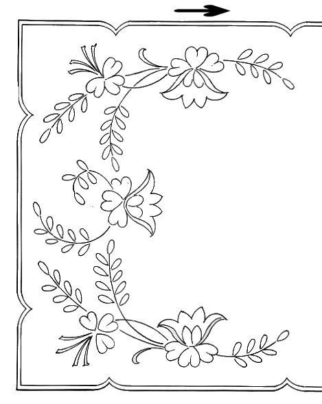 17 Best images about More Embroidery Patterns on Pinterest