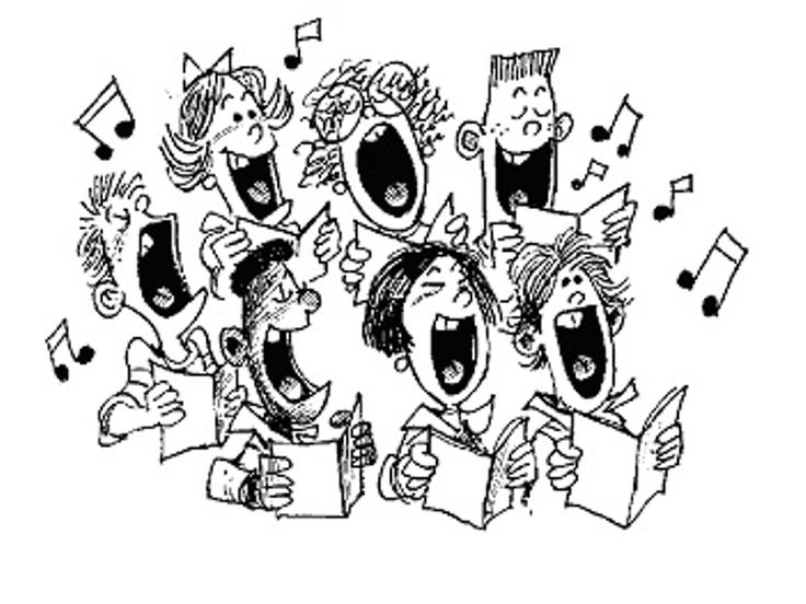 13 best images about Church Choir Clip Art on Pinterest