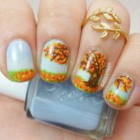 17 Best images about Fall Nail Art on Pinterest | Nail art ...