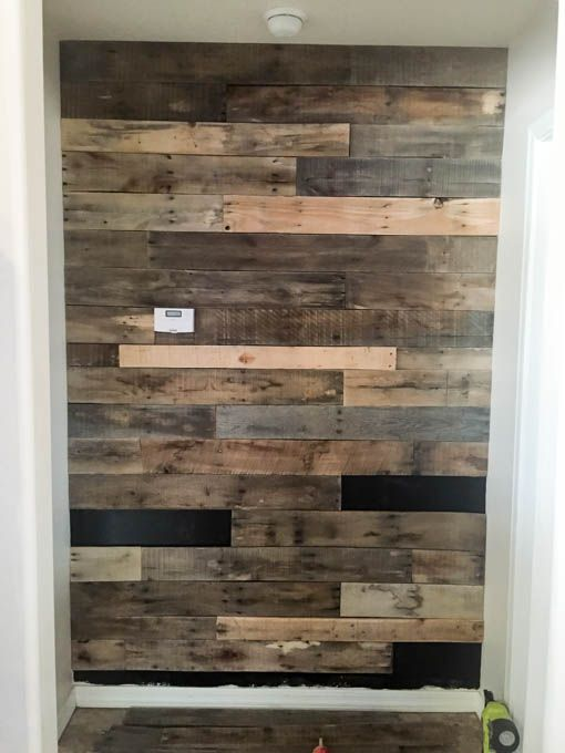 How To Install A Pallet Wall The Easy Way  On the side Fireplaces and Guest rooms