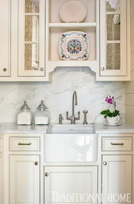 Kitchen Cabinet Knobs Atlanta Ga A Butler's Pantry With A Sink Serves As A Breakfast Bar