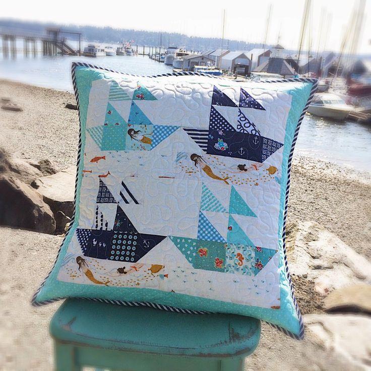 147 Best Images About Sailboat Quilts On Pinterest Quilt