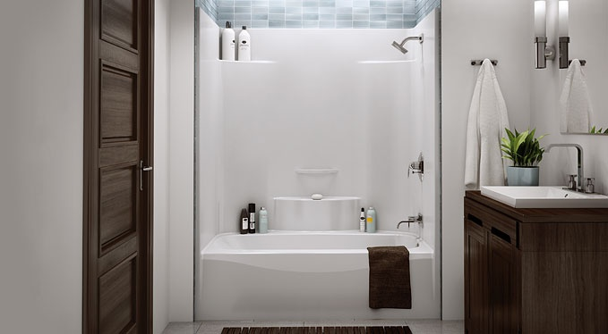 One Piece Acrylic Tubshower Insert For The Home