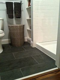 25+ best ideas about Black slate floor on Pinterest | Gray ...