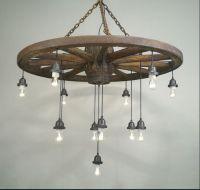 25+ best ideas about Wheel chandelier on Pinterest | Wagon ...