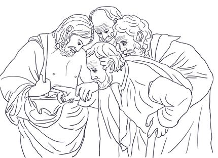 202 best images about bible story coloring page on