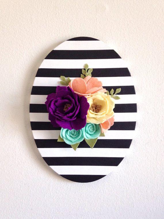 25+ Best Ideas about Flower Wall Decor on Pinterest