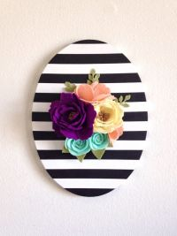 25+ Best Ideas about Flower Wall Decor on Pinterest