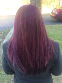 New fun hair color! Age Beautiful Dark Plum Brown 4V ...