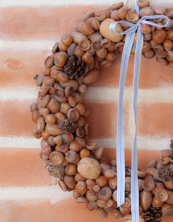 1000 Images About Nut Wreaths On Pinterest Mason Jar