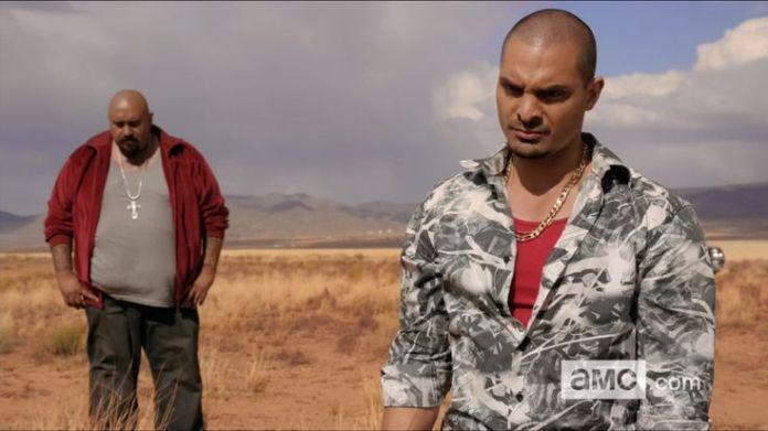 Gonzo de Breaking Bad con Nacho Vargas de Better Call Saul