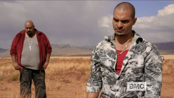 Gonzo de Breaking Bad con Nacho Vargas de Better Call Saul