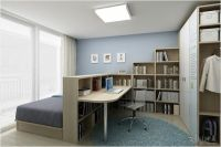 Bedroom & home office combo