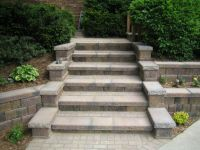 1000+ images about paver stairs on Pinterest | How to ...