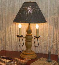 17 Best ideas about Primitive Lamps on Pinterest   Country ...